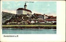 Gundelsheim am Neckar Baden-Württemberg Odenwald ~1900 Schloss Hornegg Festung