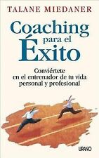 NEW Coaching Para El Exito (Spanish Edition) by Talane Miedaner