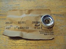 NOS GM 3820532 1958-1962 Chevy Corvette Dash Bezel for Light Switch Gr.2.487