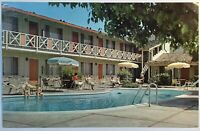 Pali Alto California Ca Country Inn Motel El Camino Real Near Stanford Univ