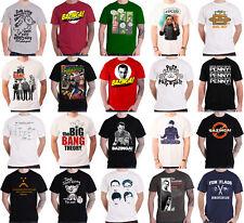 Official The Big Bang Theory T Shirt Bazinga Logo Sheldon Algorithm new Mens