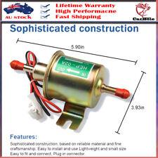 Universal 12V 2.5-4 PSI Gas Diesel Inline Low Pressure Electric Fuel Pump HEP02A