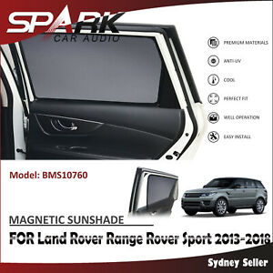 SP MAGNETIC CAR WINDOW SUNSHADE BLIND FOR LAND ROVER RANGE ROVER SPORT 2013-2018