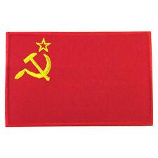 SOVIET UNION Flag Logo Embroidered Iron On Patch #PFGSU1