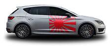 Rising Sun 03 Aufkleber Set Tuning Muster Design JDM Japan Style