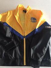 🔥 $120 New NBA Golden State Warriors Windbreaker Jacket Large Men's #V 🔥