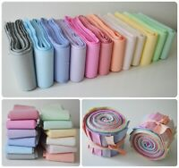 Jelly Roll Strips 100% Cotton Fabric Pastel Bundle Rotary Cut Quilting Patchwork