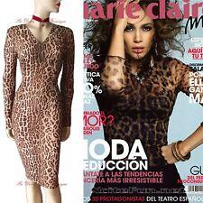 DOLCE & GABBANA D&G vintage 1990s leopard pinup 1950s DRESS size UK 12 US 8 I 44