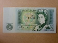 England 1 Pound 1981 - 1984 QEII (EF), Great Britian, 4pcs Running Number .