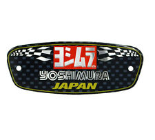 1PC  Motorcycle Aluminium Heat-resistant Exhaust Pipes Sticker Yoshimura Decal