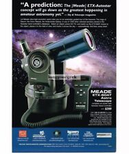 2000 MEADE ETX-60AT Astro Telescope Vtg Print Ad