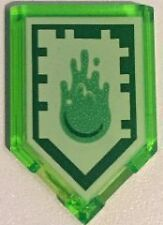 Lego Nexo Knights Power Shield Slime Blast Pentagonal Plate  2 x 3 Part