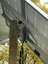 "Solar panel universal post mount kit, Holds 2 100 watt panels or 1 to 44"" wide"