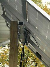 "Solar panel universal post mount kit, Holds 2 100 watt panels or 1 to 44"" wide"