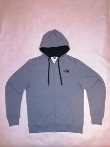 *NEU* THE NORTH FACE Sweatshirt Sweatjacke Kapuzenjacke Gr. M, Farbe: Grau