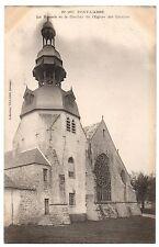 CPA 29 - PONT L'ABBE (Finistère) La Rosace et le Clocher de l'Eglise des Carmes
