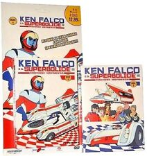 4 Dvd x 2 Box Cofanetto KEN FALCO E IL SUPERBOLIDE MACHINE HAYABUSA completa new