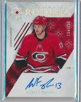 2018-19 Ultimate Collection Rookies AUTO 61 Warren Foegele /299 Hurricanes