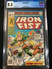 Iron Fist #14 CGC 8.5 1st Sabretooth Marvel Comics Claremont  8/77 New Slab!