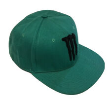 Special Edition Official Monster -  Flat Peak Cap - Headers Snapback Hat