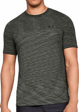 Under Armour Vanish Mens Training Top Green Seamless Short Sleeve Gym T-Shirt