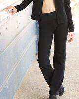 Boxercraft Womens Practice Yoga Pants No Side Seams Cotton/Spandex - S16