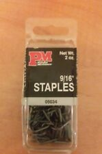 """2 OZ. PACK 9/16"""" METAL STAPLES (APPROX. 70 STAPLES) ** NEW IN PACK **"""