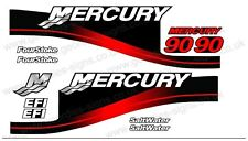 MERCURY 90 OUTBOARD FOUR STROKE MOTOR STICKERS DECAL KIT ENGINE