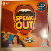 Hasbro Speak Out Board Game Funny Interactive New Sealed