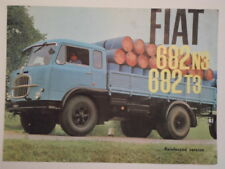 FIAT 682 N3 & T3 TRUCKS orig c1962 UK Mkt Sales Brochure