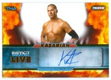 "KAZARIAN ""AUTOGRAPH CARD #09/99"" KNOCKOUT TNA IMPACT LIVE 2013"
