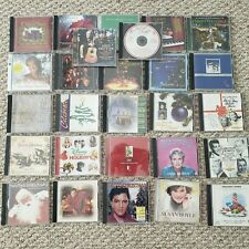 Huge Lot of 27 Christmas Music CDs Various Artists Elvis Bing Crosby John Tesh
