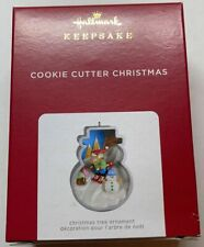 Hallmark 2021 Cookie Cutter Christmas Ornament New with Box