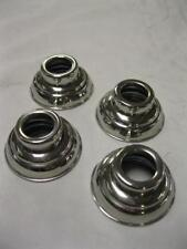 1938 - 1947 Ford Pickup Truck Stainless Door Handle & Crank Escutcheons Set of 4