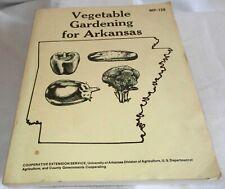Vegetable Gardening for Arkansas MP-128 PB (SKU# 2542)