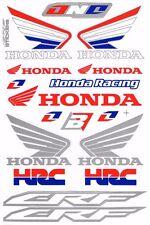 1 SHEET NEW HONDA HRC CAR MOTOCROSS ATV ENDURO BIKE RACING DECAL STICKER SK168
