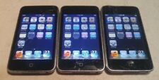 Lot of 3 Apple iPod Touch 2nd Gen A1288 8GB Black - MINOR SPOTS ON LCD