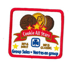 Girl Guide Scout Brownie BADGE PATCH CREST – new! ~ Cookie All Stars 2014/15 3""