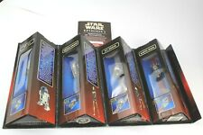 Star Wars Episode 1 Die-cast Watch Collection 1999 R2-D2, Darth Maul Droid COA