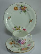 Royal Crown Derby-FIORELLINI TRIO-VINTAGE - 1940s