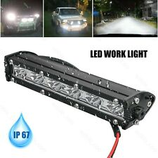 7'' 18W Spot LED Light Work Bar Lamp Driving Fog for Offroad SUV 4WD Car Truck