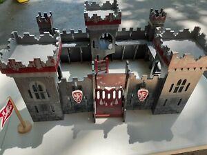 Papo Chateau Fort Knight's Castle Play Set, Mutant Castle, Large Set