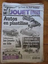LA VIE DU JOUET N°69 2001 CROIX DU SUD JOUSTRA AUTOS EN PLASTILINE TRACTEUR VB