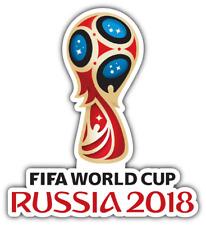 "FIFA World Cup Russia 2018 Football Soccer Car Bumper Sticker Decal 4.6""X5"""