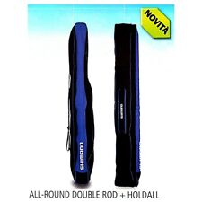 Fodero Portacanna da pesca Shimano All-round Double Rod Holdall surfcasting