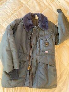 Refrigiwear Iron-Tuff® Siberian Freezer Suit. Jacket & High-Bib Overalls. Medium