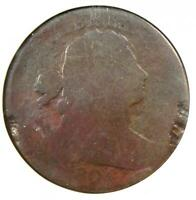1804 Draped Bust Large Cent 1C Coin - Certified ANACS AG3 Detail - Rare Key Date