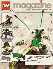 LEGO Magazine Publication Playbook of Lego Club 2003 Hockey Rahkshi Kaita  COOL