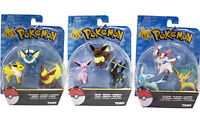 3/9Pcs Pokemon Go Toy Eevee Eeveelutions Includes 1/3 BOXED pokemon figures Gift