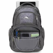 High Sierra Swerve Laptop Backpack Slate/woolly Weave Gray Water Repellent D7